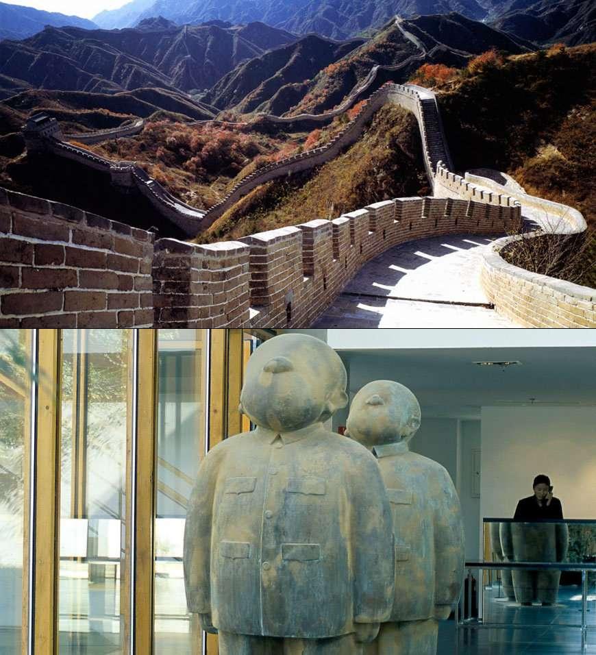 Dormir sur la Grande Muraille de Chine au Commune by the Great Wall
