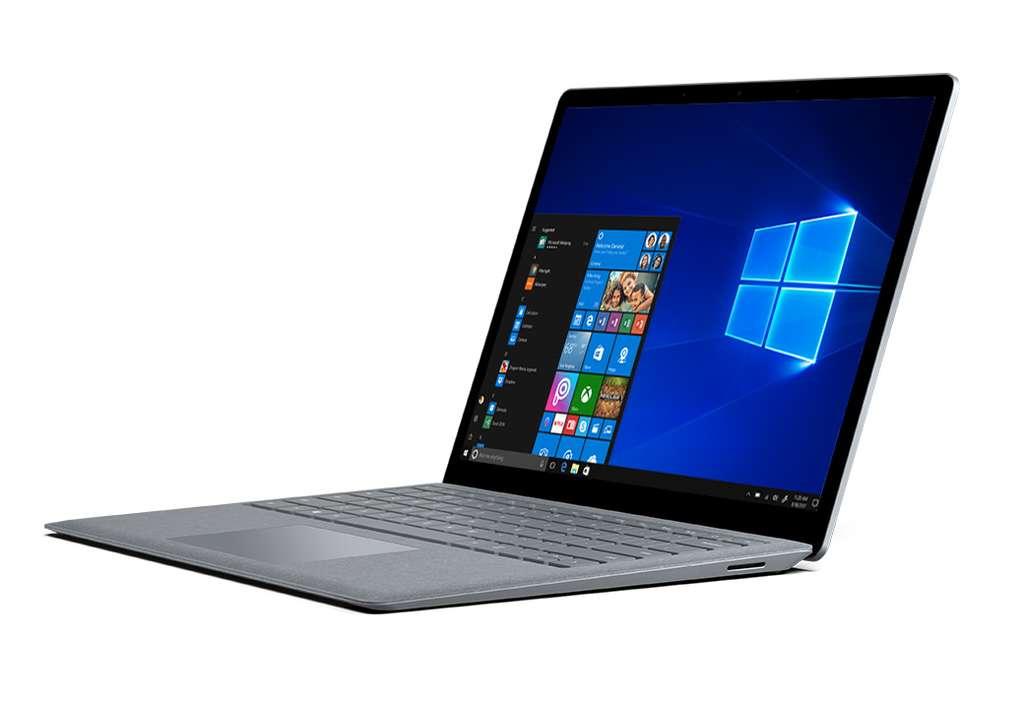 Parallèlement à la présentation de Windows 10 S, Microsoft dévoilé un ordinateur portable baptisé Surface Laptop. © Microsoft