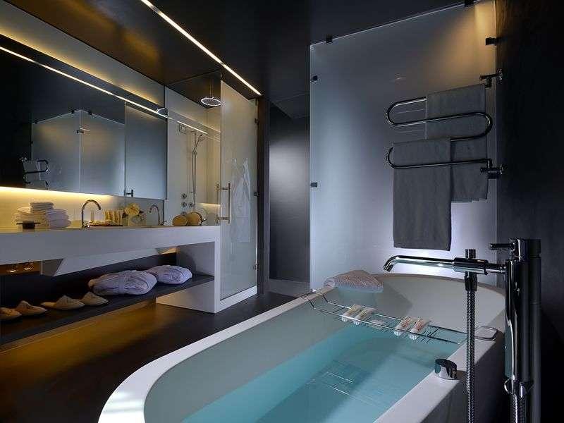 Salle de bains du Lido Palace