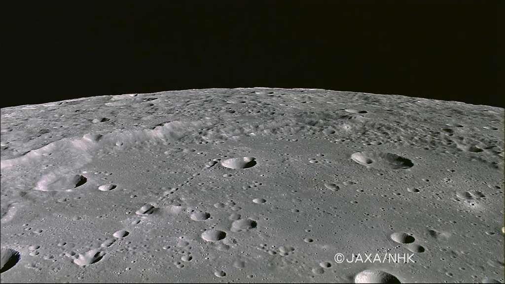 Photo du cratère Mendeleev, sur la Lune