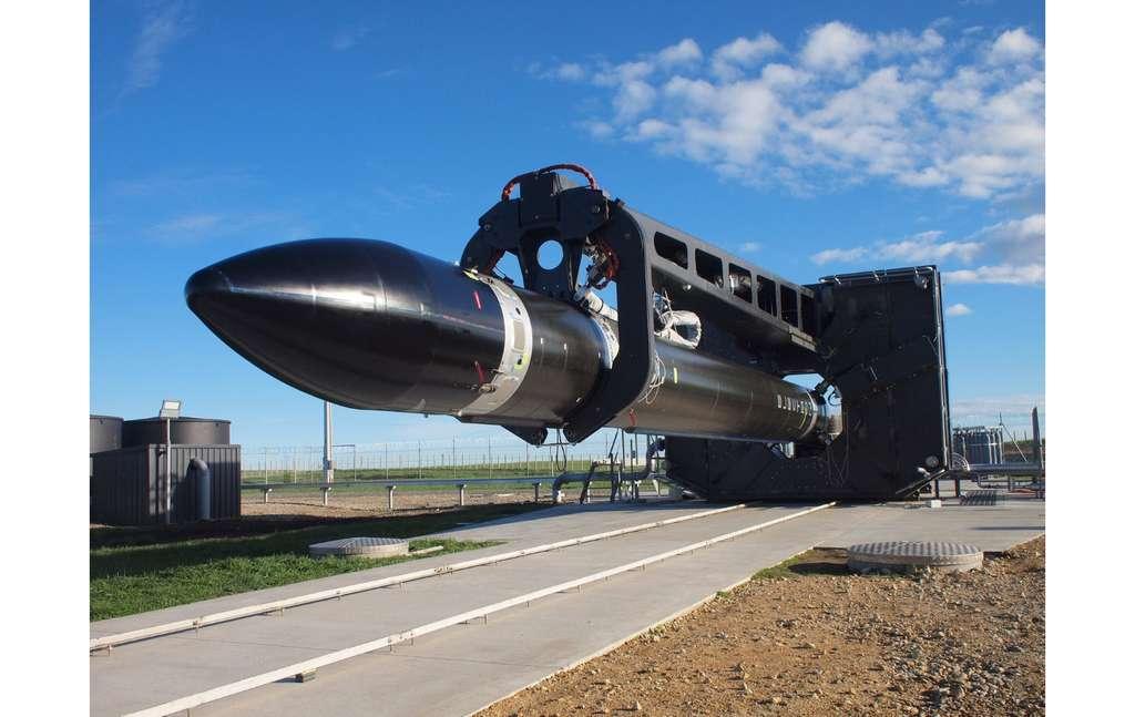 Le lanceur Electron lors de son vol inaugural. © Rocket Lab