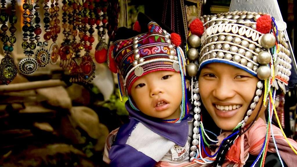 Les Akhas, un peuple montagnard d'Asie du Sud-Est