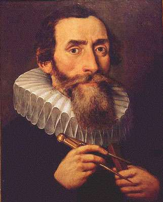 Portrait de Kepler. © Wikimedia Commons