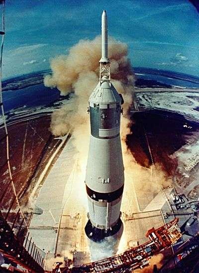 Départ d'Apollo 11. Crédit Nasa