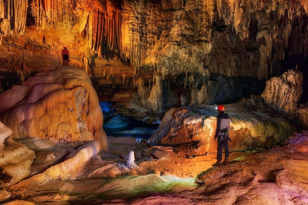 La grotte São Bernardo, un dédale de 12 kilomètres