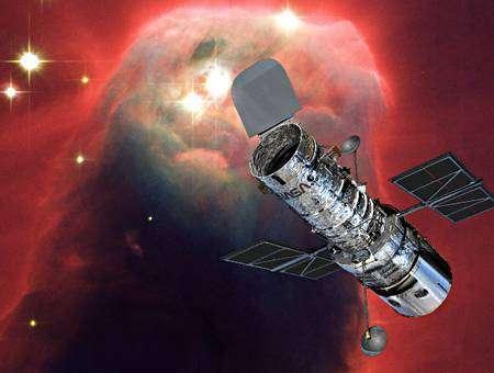 Le Télescope Spatial Hubble (vue d'artiste)
