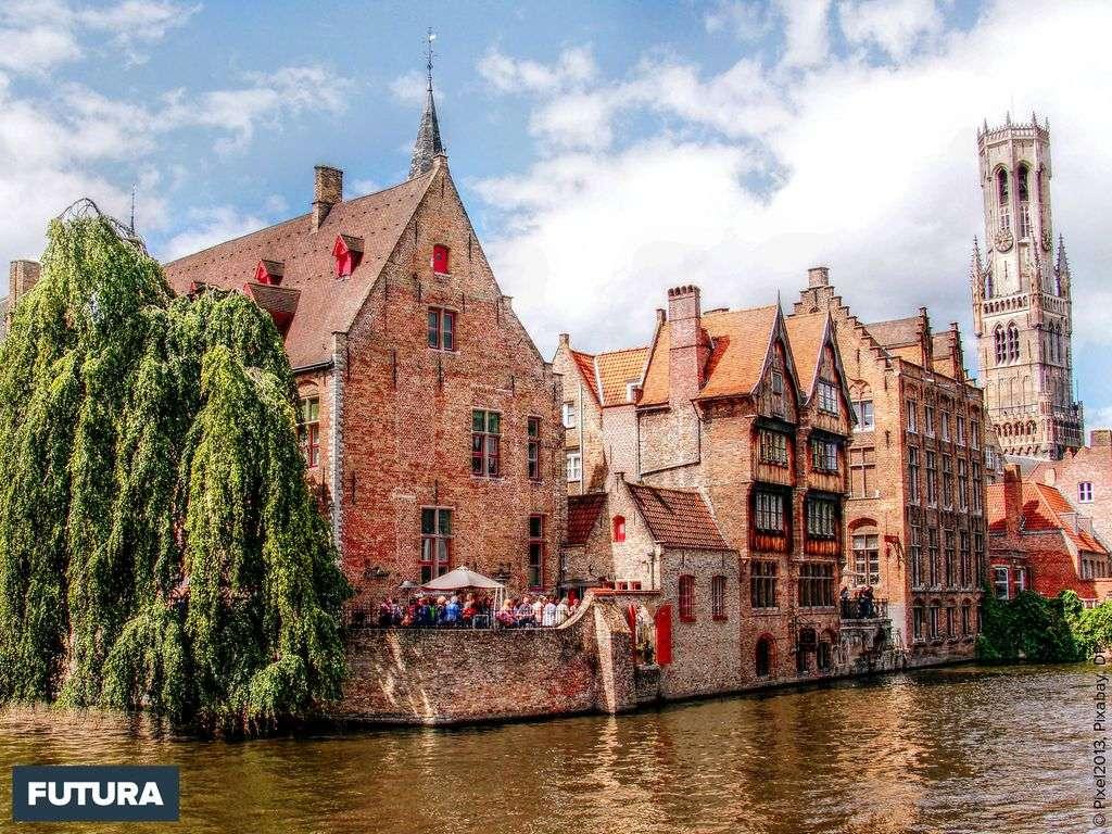 Bruges, ville romantique reconnue patrimoine mondial de l'UNESCO