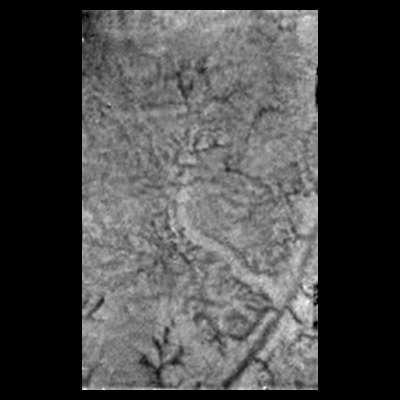 Y a-t-il plu avant l'atterrissage de Huygens sur Titan ? (crédits : ESA/NASA/JPL/University of Arizona)