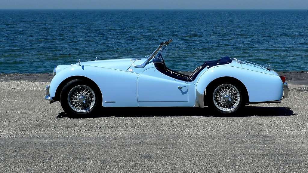 La Triumph TR3 de la Standard Motor Company
