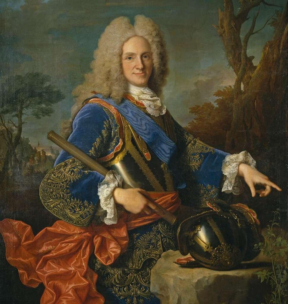 Le roi Philippe V d'Espagne, petit-fils de Louis XIV, en 1723, par Jean Ranc. Musée du Prado, Madrid, Espagne. © Wikimedia Commons, domaine public