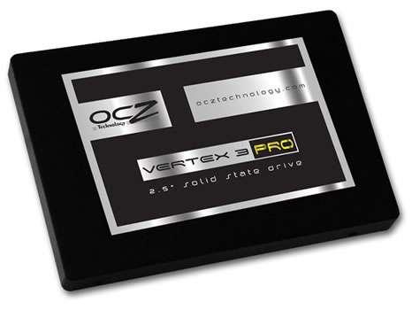 L'OCZ Vertex 3 est actuellement un des disques SSD les plus rapides avec une vitesse de lecture atteignant 550 Mo/sec. Le standard Onfi 3.0 devrait permettre un quasi-doublement de ces performances. © OCZ Technologies