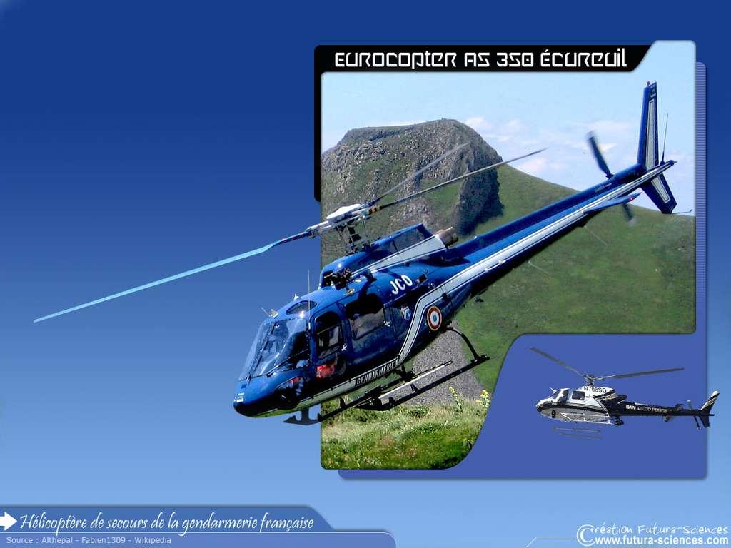 Eurocopter AS 350 écureuil