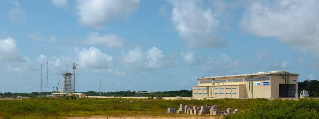 Le bâtiment d'intégration lanceur (MIK)