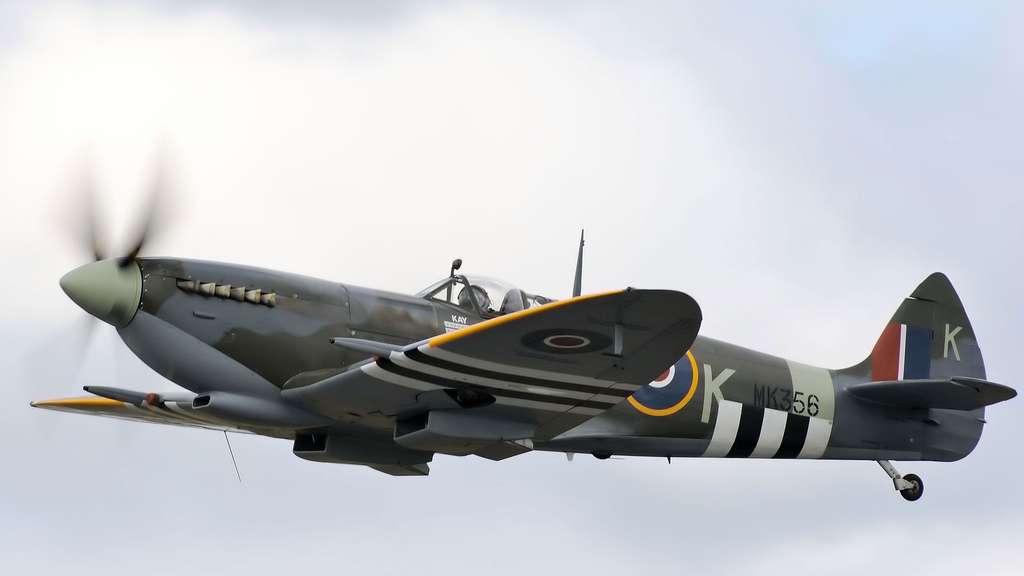 Le Supermarine Spitfire et son moteur Rolls-Royce