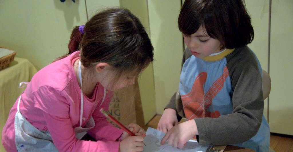 Les enfants qui ont été en contact rapproché avec le malade sont à risque. Cependant, en cas de méningite, il n'y a pas de nécessité de fermer l'établissement. © Wellspring Community School, Flickr, CC by 2.0