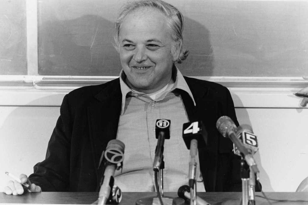 Une photo de Burton Richter en 1976. © Stanford News Service
