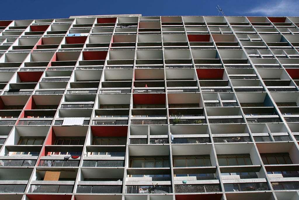 Vue de l'ensemble d'habitations de Firminy-Vert (42). © Cordiste69, CC by-sa 3.0