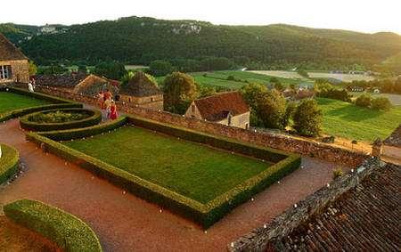 À Marqueyssac, la vue sur la vallée de la Dordogne est éblouissante. © Laugery, DR