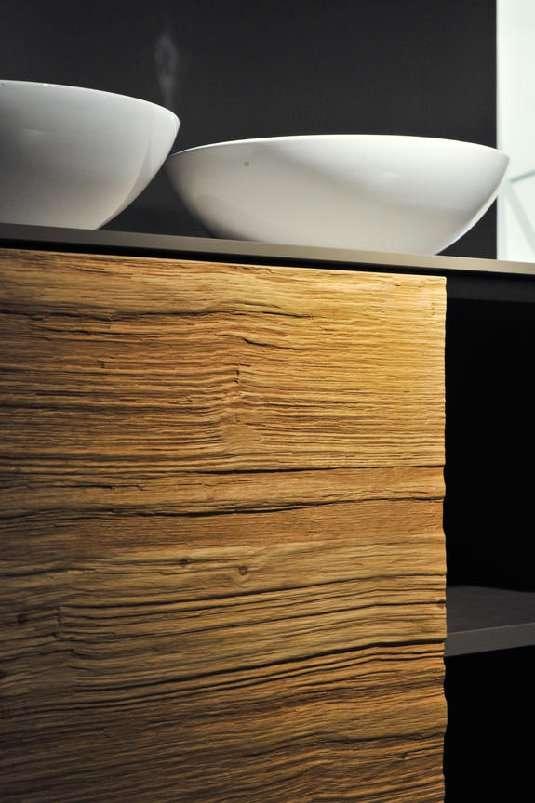 La décoration intérieure, notamment les placards et rangements, fera une grande place au bois. Stand Thielemeyer - Halle 5.1. © Photographe : Koelnmesse