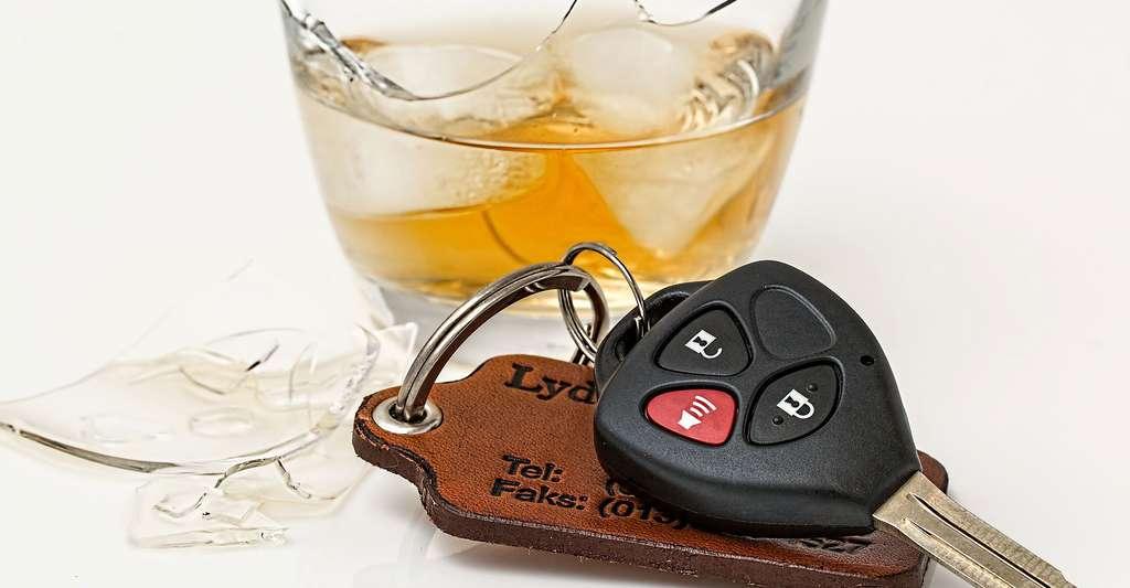 Alcool au volant est dangereux. © Stevepb - Domaine public
