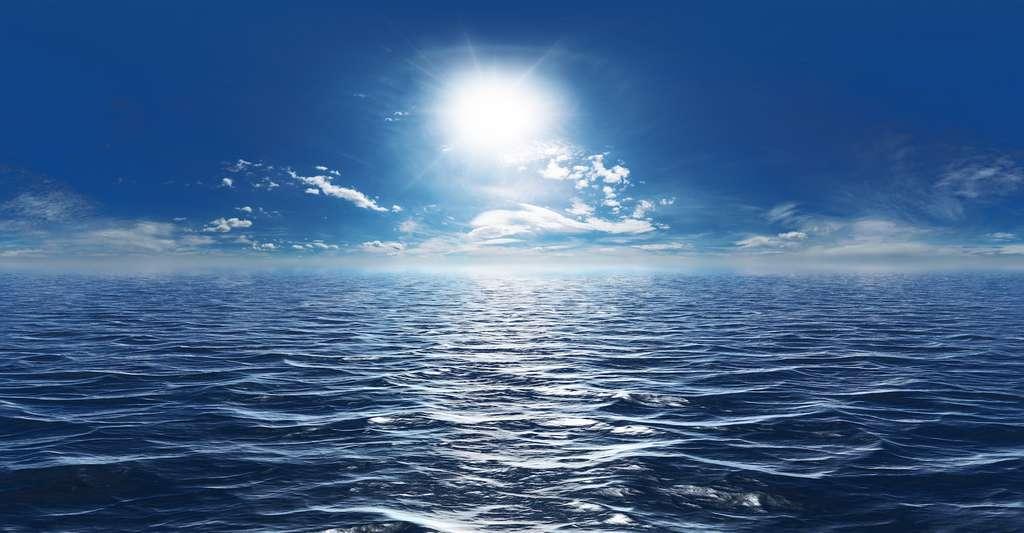 L'océan pourrait aussi participer à des campagnes globales de gestion du rayonnement solaire. © Mathias Weil, Adobe Stock