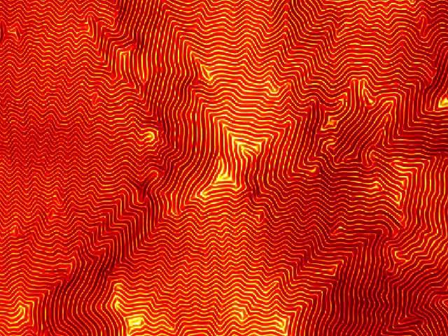 Quand le caoutchouc se mélange au verre. © James Hedrick, Northwestern University