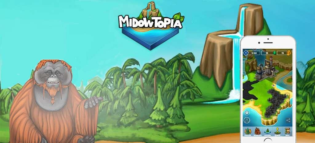 La campagne Midowtopia, lancée par la start-up eGreen, c'est l'une des campagnes en cours sur la plateforme de co-innovation EDF Pulse & You. Le co-bêta-test d'une application pour sauver la planète en jouant. © Adobe Stock