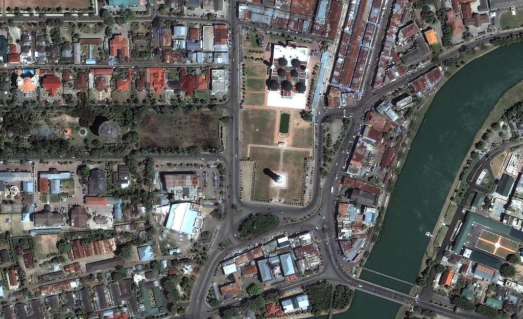 Indonésie : Grand Mosquée avant le tsunami