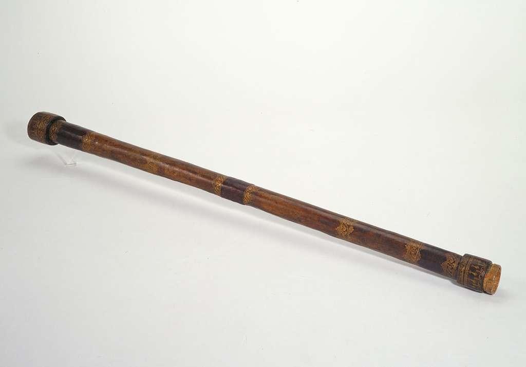 Galilée a réalisé plusieurs lunettes au cours de sa vie, augmentant progressivement leur pouvoir de grossissement. On en connaît plusieurs dizaines. © Istituto e Museo di Storia della Scienza, Florence