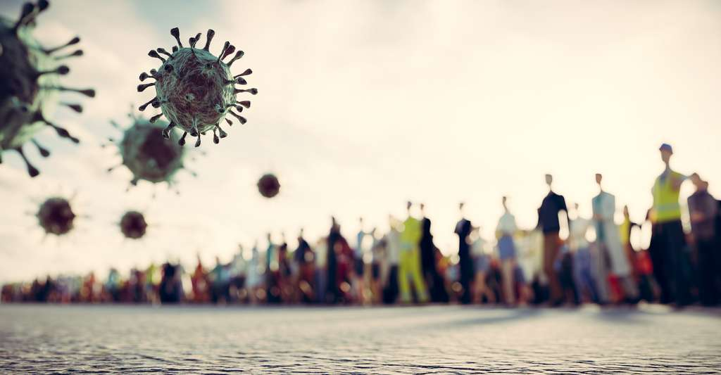 Le monde a connu plusieurs pandémies meurtrières avant celle d'aujourd'hui. © Photocreo Bednarek, Adobe Stock
