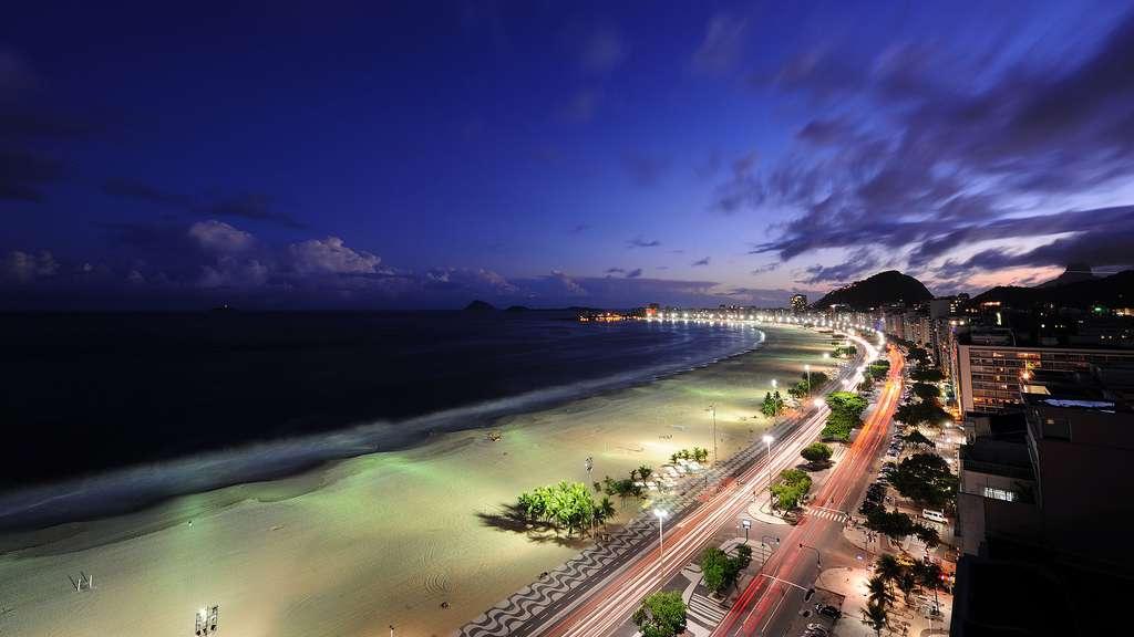 Le quartier Copacabana à Rio de Janeiro