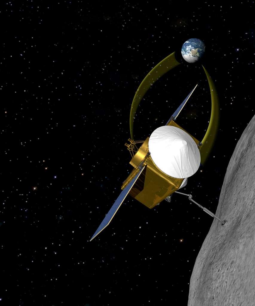 La sonde Osiris-Rex devrait récupérer de la matière sur l'astéroïde 1999 RQ36 à l'horizon 2020. © Nasa/Goddard/University of Arizona