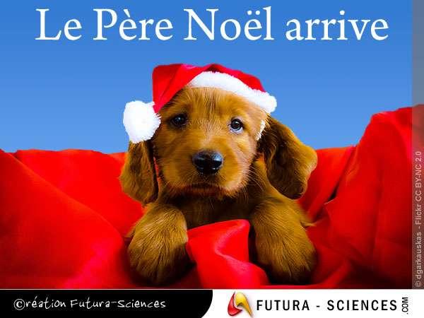 Le Père Noël arrive...