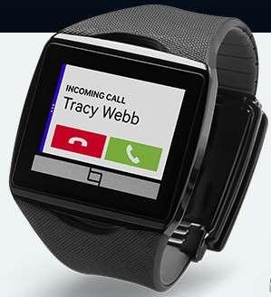 Quacomm a créé la surprise en dévoilant sa montre Toq qui cultive sa différence grâce à une technologie d'affichage plus économe en énergie et un design plus fin que la concurrence. © Qualcomm