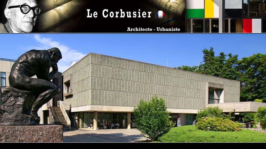 Le Corbusier et le musée de l'art occidental à Tokyo