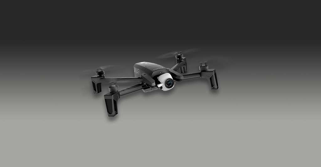 Doté d'un design inspiré des insectes, l'Anafi de Parrot tente de reconquérir le marché du drone grand public. © Parrot