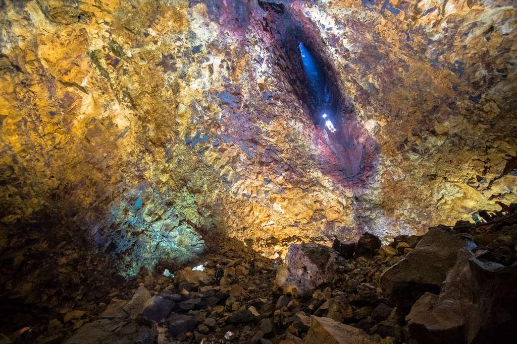 La chambre magmatique du Thrihnukagigur : IV