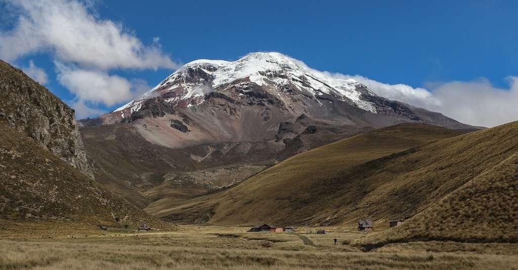Le volcan Chimborazo (6268m) en Équateur. © Bernard Gagnon - CC BY-NC 3.0