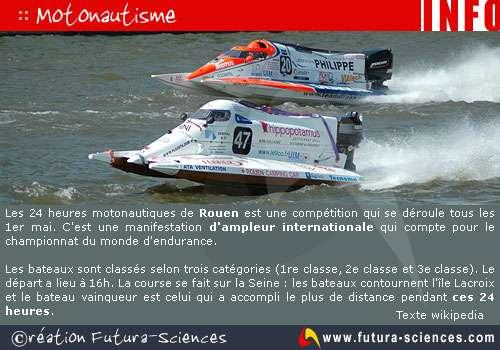 Rouen : motonautisme