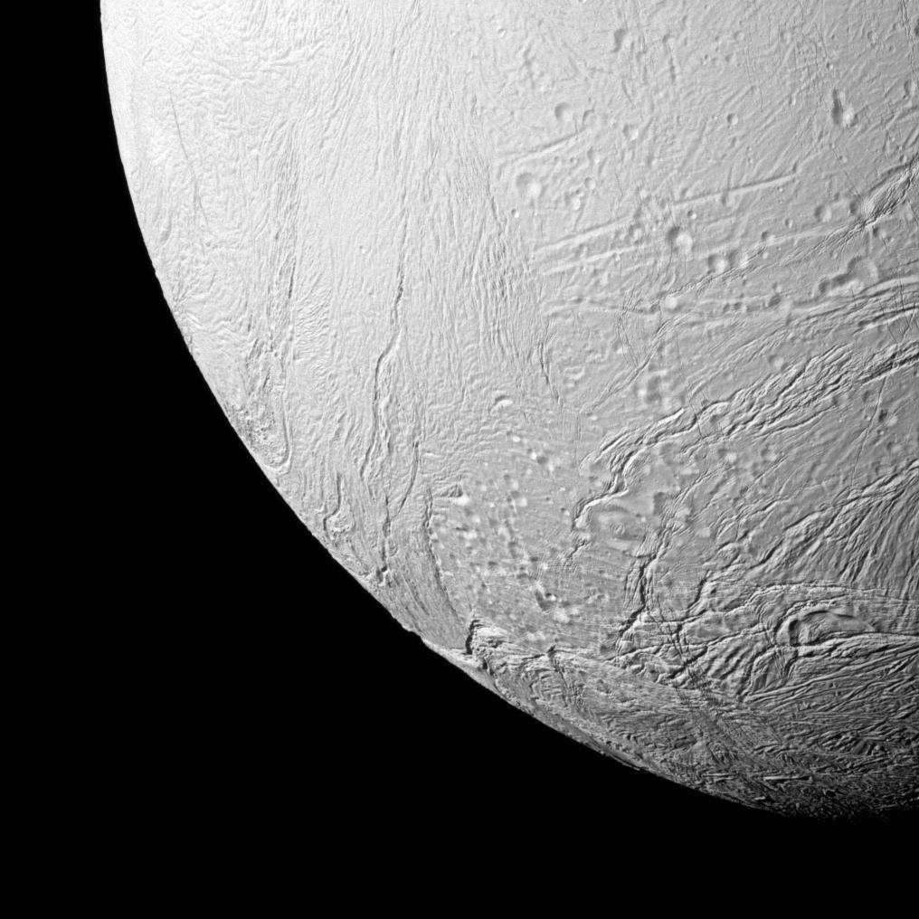 Encelade et son pôle sud