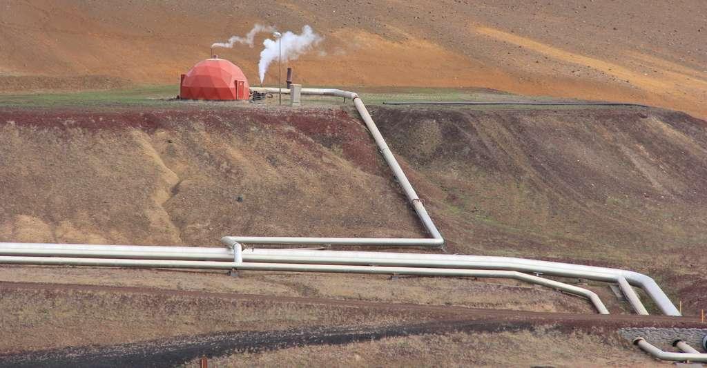 Les installations géothermiques exploitent la chaleur de la Terre. © nocidar, Fotolia