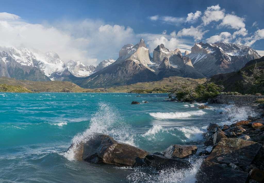 Le lac Pehoé, un lac glaciaire aux portes de la Patagonie