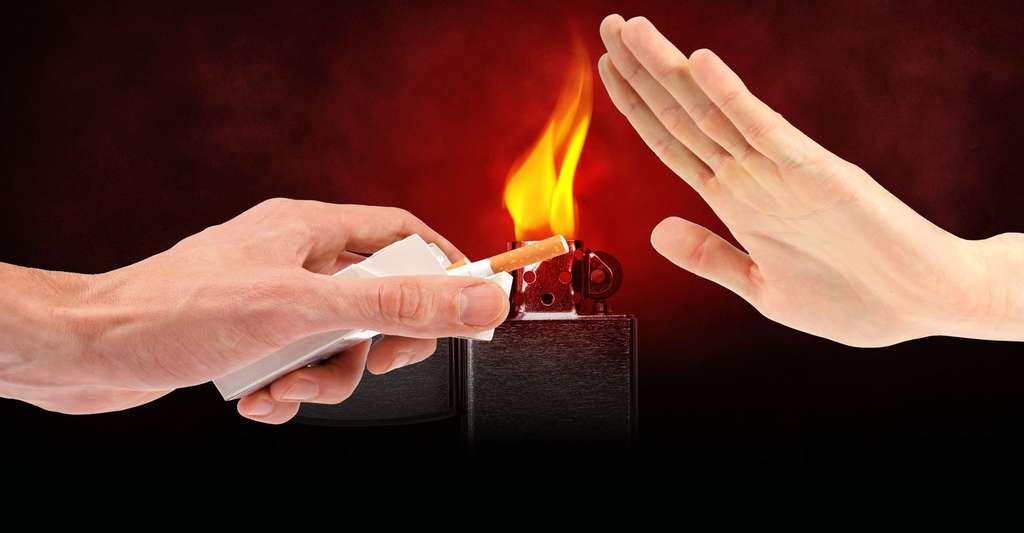 Des enquêtes et ouvrages à consulter sur l'arrêt de la cigarette. © Ronstik, Shutterstock