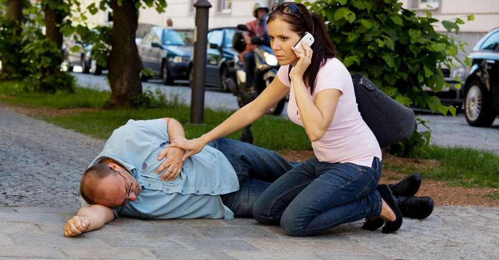 Comment reconnaître une victime inconsciente ? © Lisa S., Shutterstock