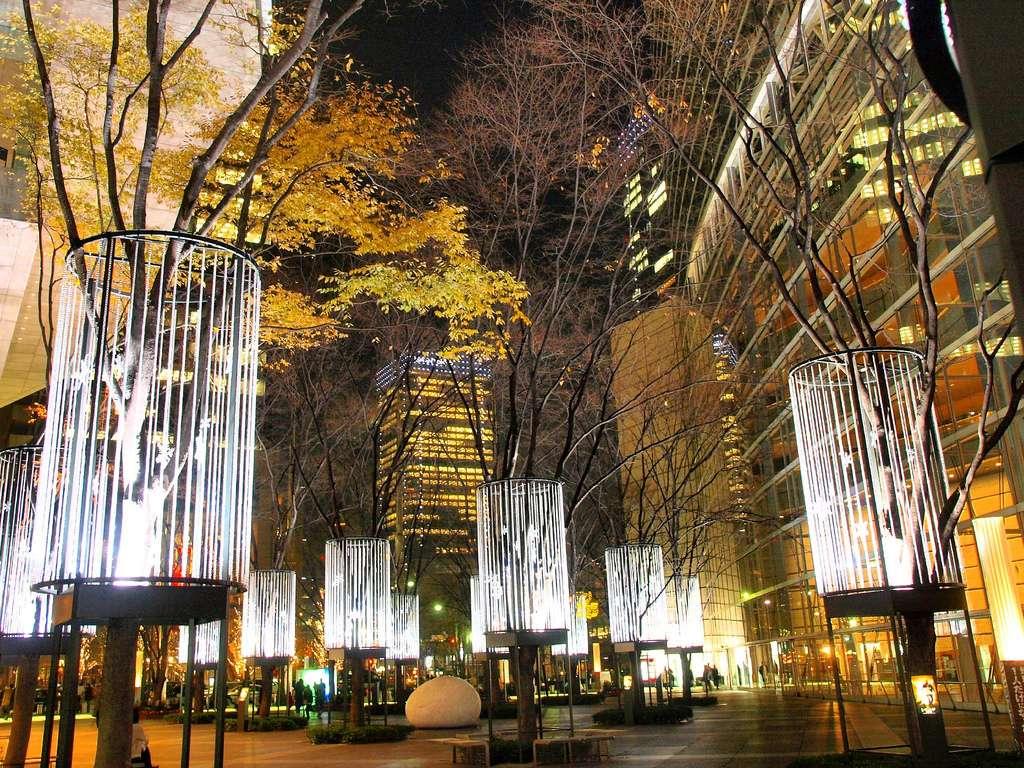 Le Tokyo International Forum à Noël