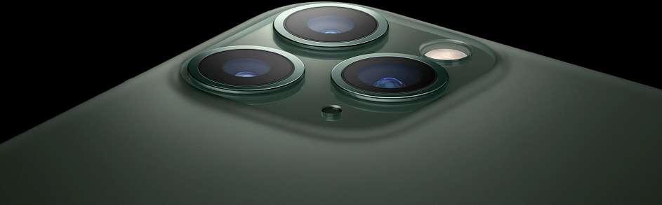 La fonctionnalité star de l'iPhone 11 Pro est de loin son triple appareil photo aux capteurs de 12 Mpx. © Apple Store