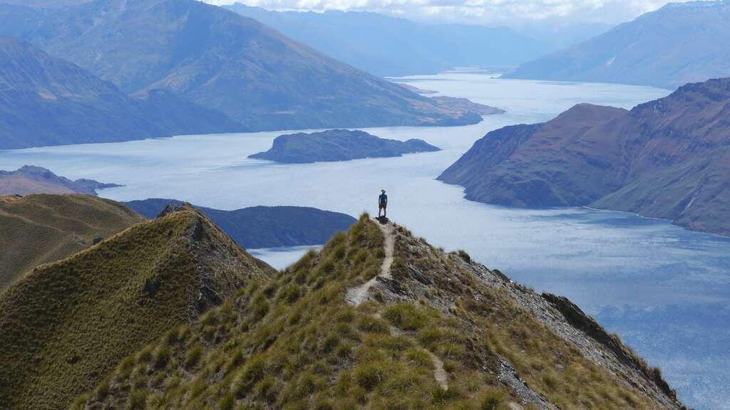 Le mont Roy, près de Wanaka dans l'île du Sud, en Nouvelle-Zélande. © Bruno Cédat
