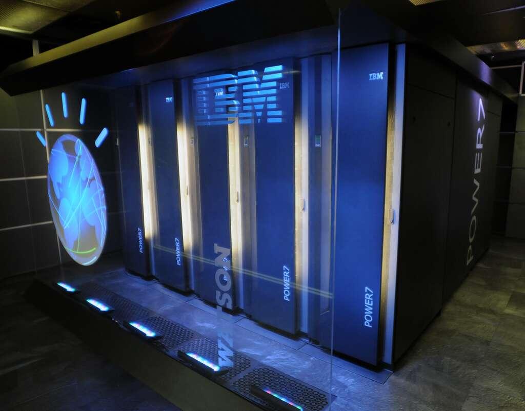 Voilà à quoi ressemble Watson, le superordinateur d'IBM, dont la puissance équivaut à celle de 6.000 PC de bureau. Un monstre de puissance à 3 millions de dollars. © IBM