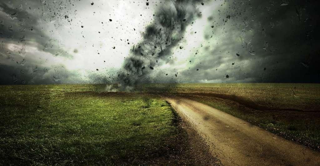 Ouragan aux Etats Unis. © Comfreak, DP