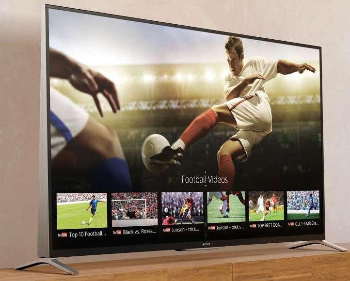 Les téléviseurs connectés (ici un modèle Sony) offrent des fonctionnalités séduisantes. Mais ce sont aussi des ordinateurs, qui peuvent donc héberger des malwares et devenir, à l'insu de leurs propriétaires, les soldats d'attaques en règle contre de grands sites Web. © Sony